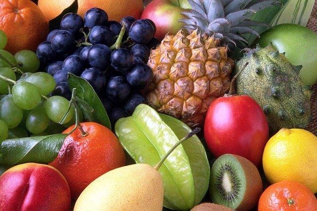 druhy ovoce
