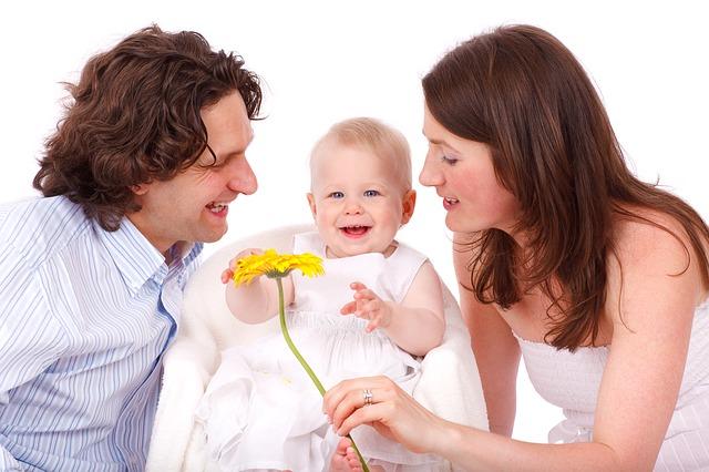 rodiče s dceruškou