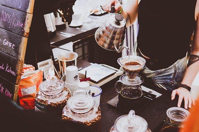 příprava speciální kávy