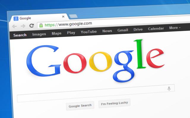 vyhledávač, google