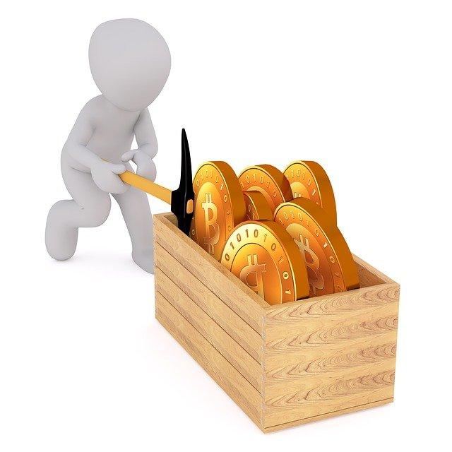 bitcoiny v truhle