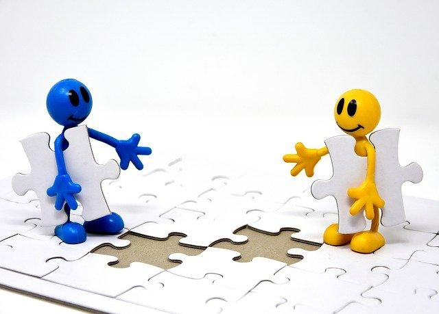 panáčci a puzzle