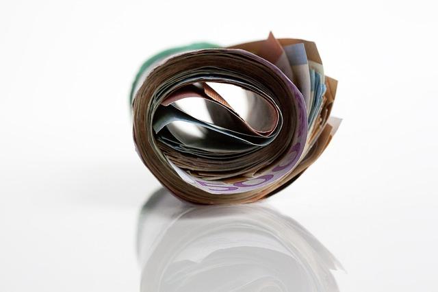 rulička bankovek